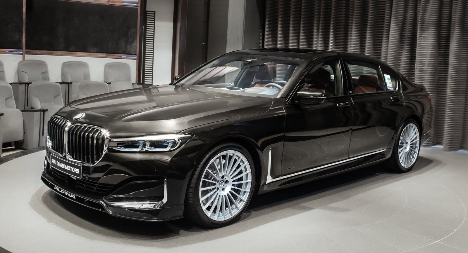 2020 Alpina B7 Looks Understated Thanks To Citrin Black Exterior