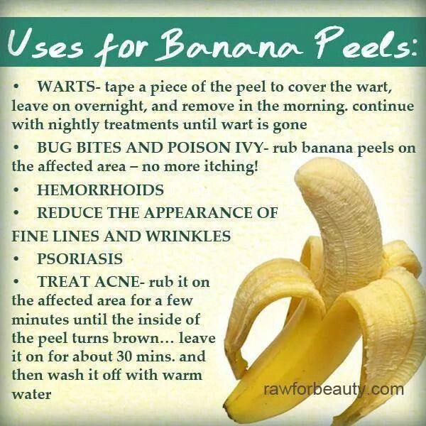 Wart treatment banana peel, Wart treatment banana peel,