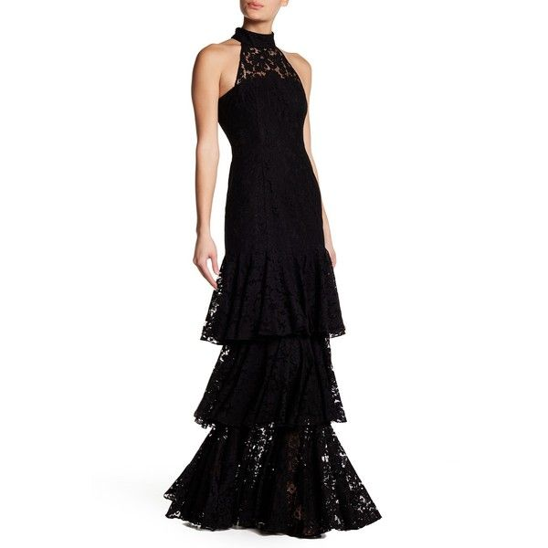 JAY GODFREY Portland Lace Gown (1.695 DKK) ❤ liked on Polyvore ...