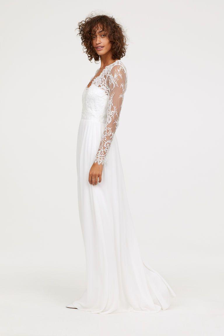 Vestiti Da Sposa Low Cost.La Versione Low Cost Dell Abito Da Sposa Di Kate Middleton