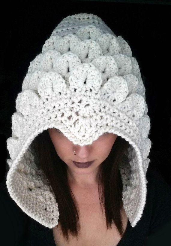 Celestial Crocodile Hood Crochet Pattern Crocodile Stitch ...