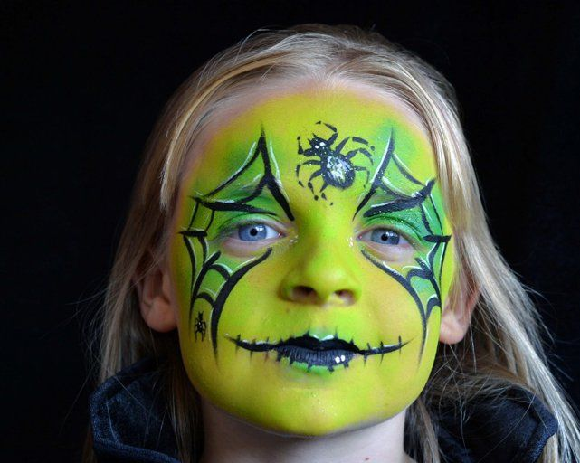 Halloween face painting for kids - The Zombie look - Families Online - face painting halloween ideas