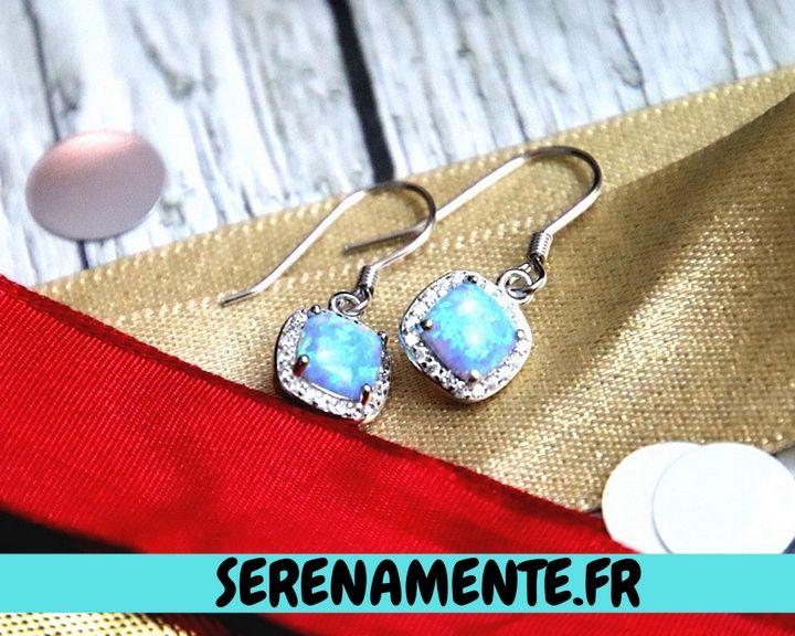 Boucles d'oreilles en argent oNecklace #look #lookdefetes #robedesoirée #christmaslook