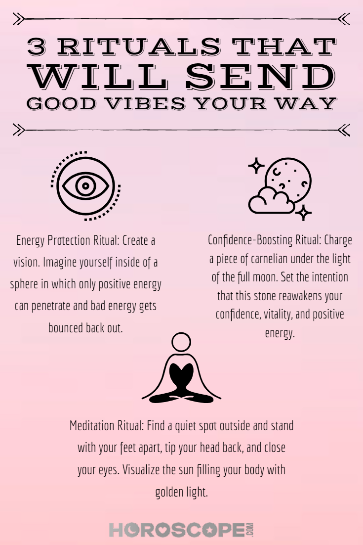 Photo of 3 Rituals That Immediately Send Good Vibes Your Way
