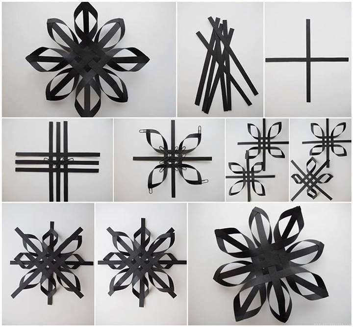 How to make beautiful black decoration stars step by step diy how to make beautiful black decoration stars step by step diy tutorial instructions how to solutioingenieria Choice Image