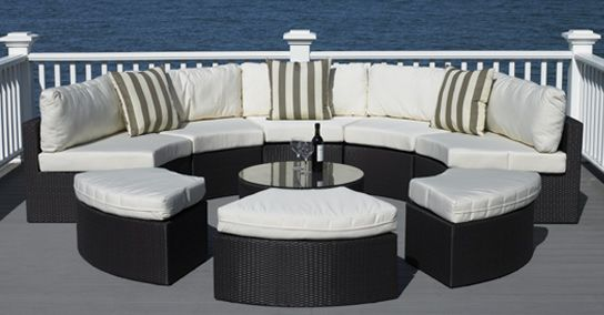 Santorini Collection-High Quality Outdoor Wicker Patio Furniture