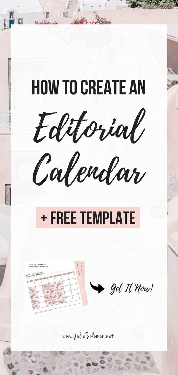 Social Media Editorial Calendar Template + How to Create Blogger