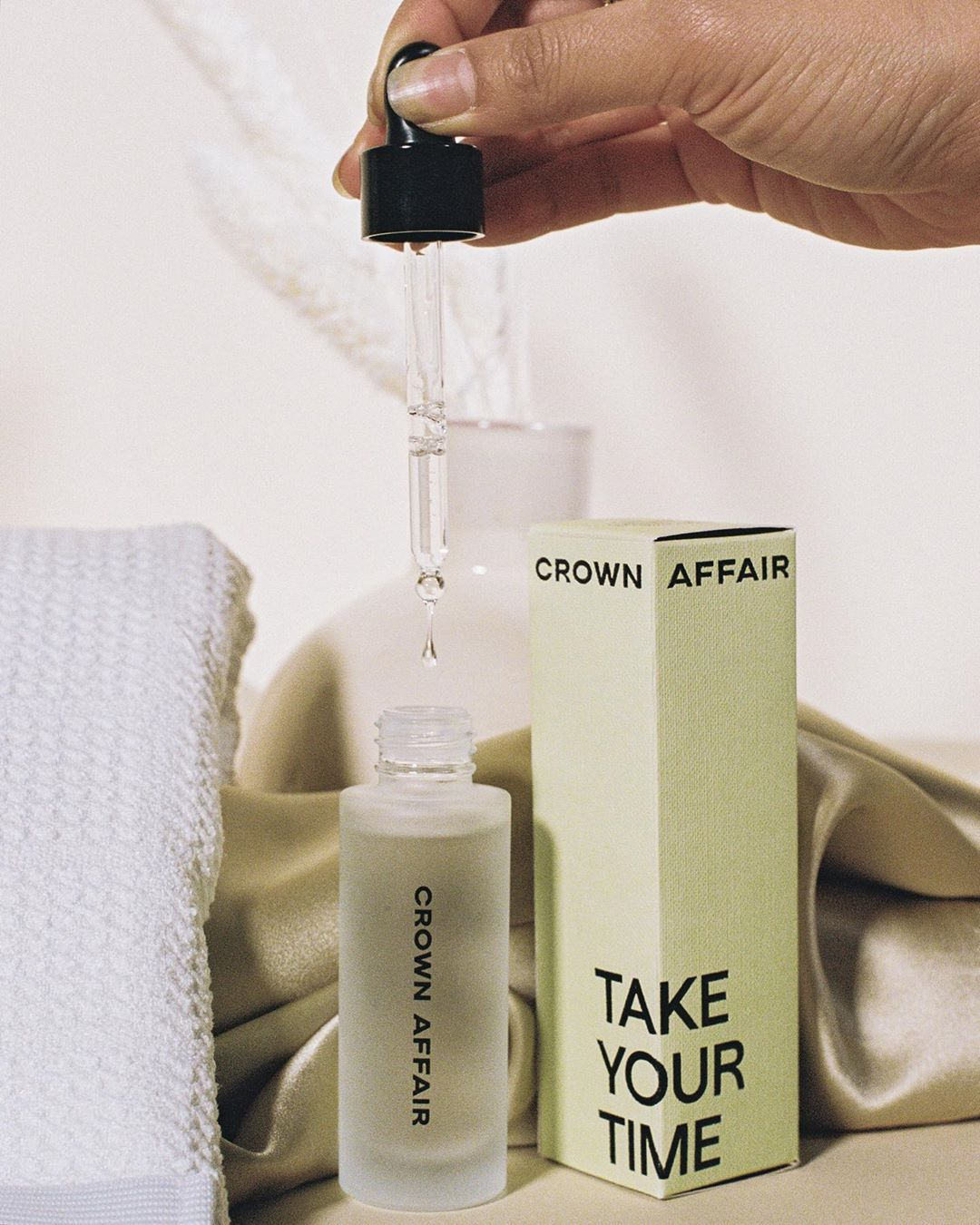 """Crown Affair on Instagram """"""""I never had to comb my hair"""