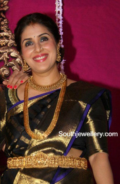 696dbcccf4c845 Keerthi Reddy in Traditional Jewellery photo