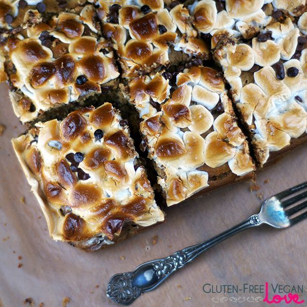 Gluten-Free Vegan Marshmallow, PB, Banana, Chocolate Chip Bread #veganmarshmallows Gluten-Free Vegan Marshmallow, PB, Banana, Chocolate Chip Bread #veganmarshmallows