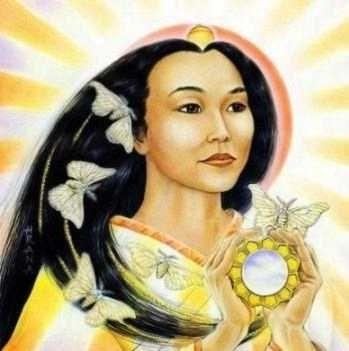 Amaterasu Omi Kami Shinto Dun Goddess Of Japan When Insulted