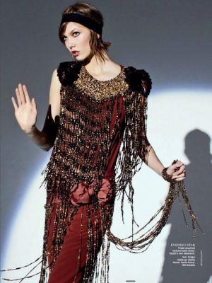 Karlie Kloss by Arthur Elgort for Vogue Australia May 2012