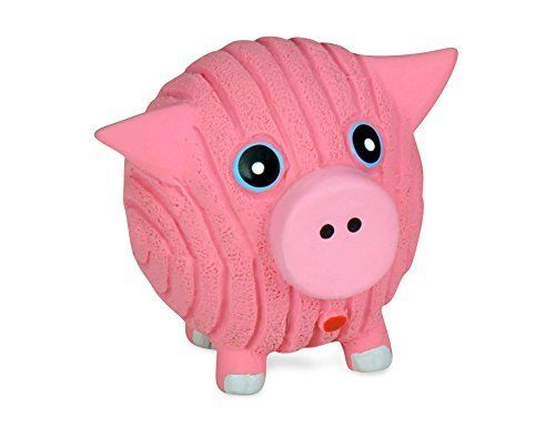 Huggle Rufftex Hamlet The Pig Squeaky Dog Toy Small Read More Reviews Of The Product By Visiting The Link On The Image Dog Toys Pet Pigs Pet Toys