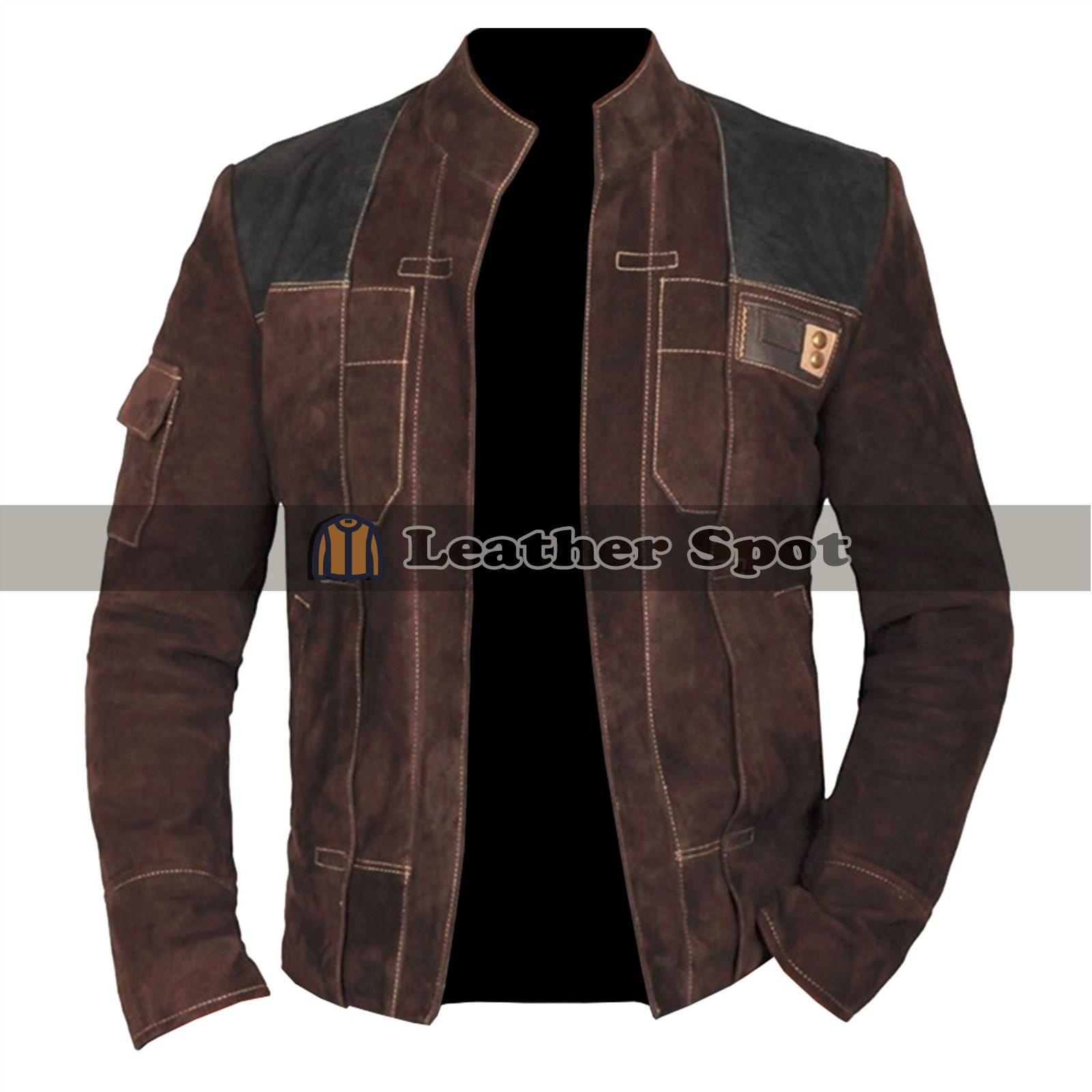 Han Solo A Star Wars Story Brown Suede Leather Jacket Lm Jackets Star Wars Jacket Leather Jacket Jackets [ 1600 x 1600 Pixel ]
