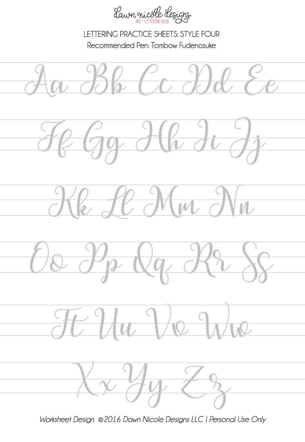 Pin by Pooja Tapadia on Hand lettering practice sheets