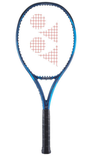 Yonex 2020 Ezone 100 Tennis Racket 100sq 300g 16x19 Deep Blue Free Ems Tennis Racket Rackets Best Tennis Rackets