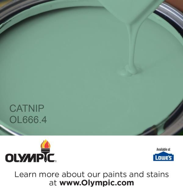 Catnip Green paint colors, Design seeds and Paint ideas