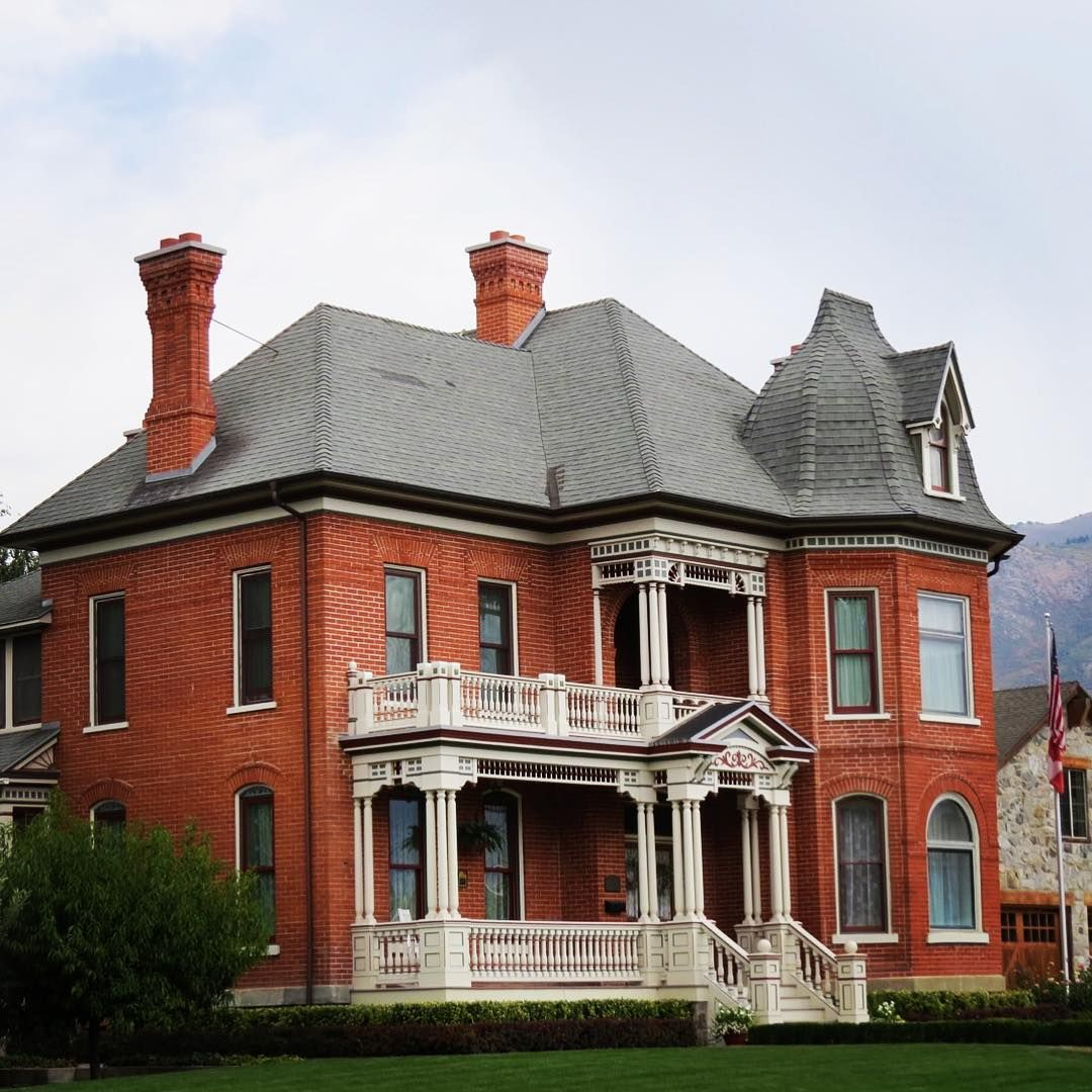 1884 John George Moroni Barnes House Kaysville Utah Victorian Interior Mansions Victorian Homes