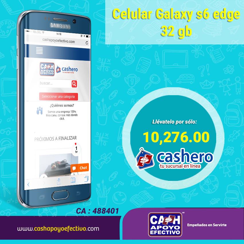 Regresa a clases con un smartphone, pero regresa con el mejor. En #Cashero lo tenemos. http://www.cashapoyoefectivo.com/celular-telefono-samsung-galaxy-s6-edge-32gb-359030060949363.html…