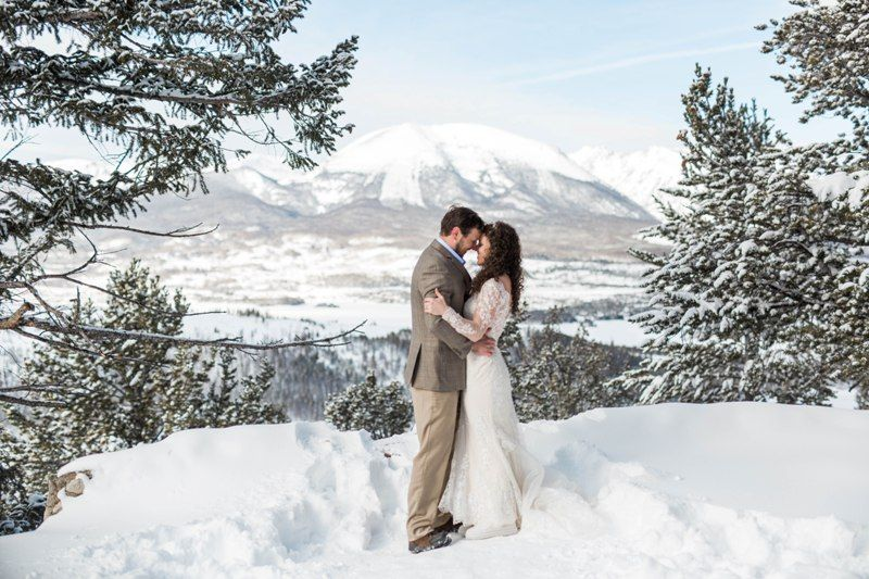 A Rocky Mountain Winter Wedding for Adam and Laura