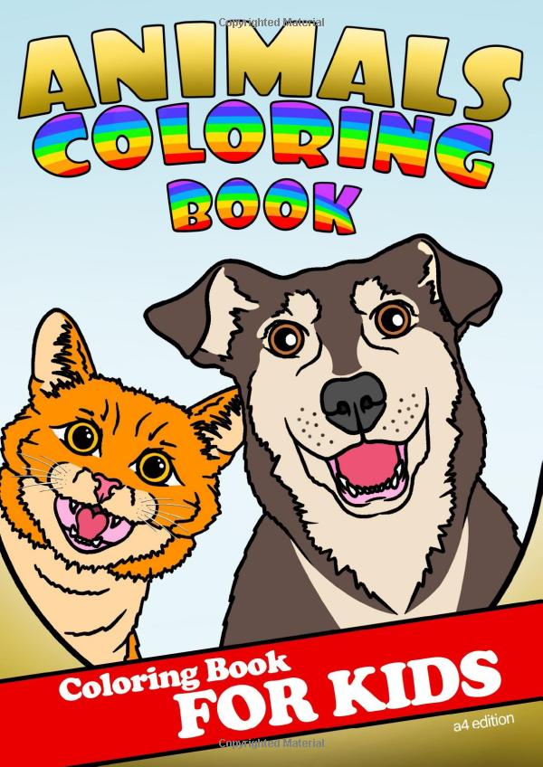 ANIMALS COLORING BOOK FOR KIDS #animalsbookforkids #funnyanimals #funnyanimalslove #animalsfunny #funnyanimalspictures #animalscoloring #animalscoloringbook #animalscoloringpage #animalscoloringpages #animalscoloringbooks