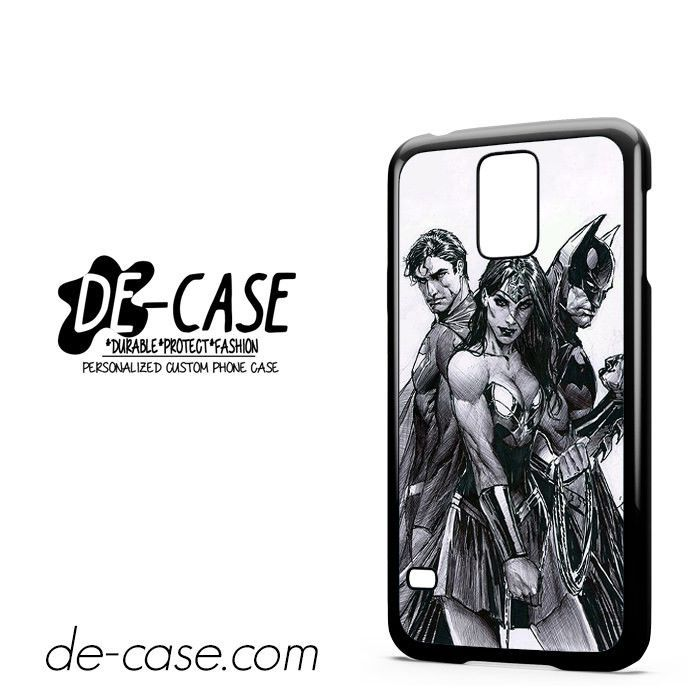Superman Wonder Women Batman DEAL-10331 Samsung Phonecase Cover For Samsung Galaxy S5 / S5 Mini
