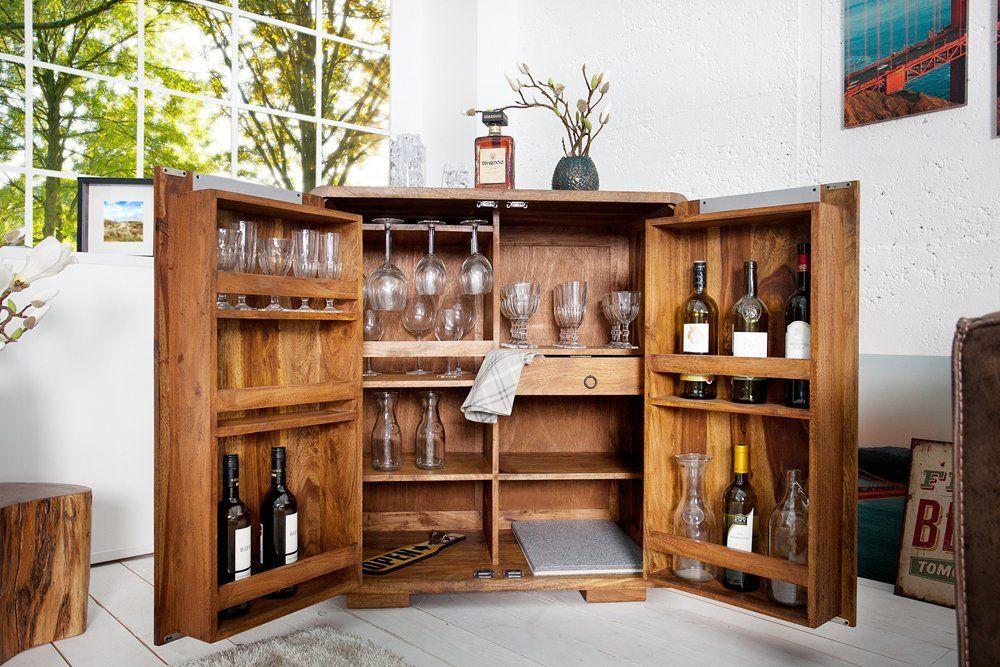 Invicta Interior 35897 Barschrank Goa 100cm Amazonde Küche - küche mit bar