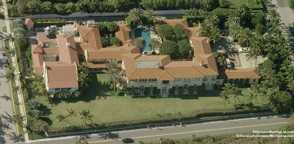 Billionaire David Koch's Mansion In Palm Beach, FL Mega