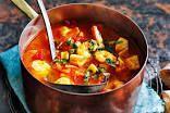 Sopa de Mariscos: Seafood Stew/Soup, Using a Sofrito