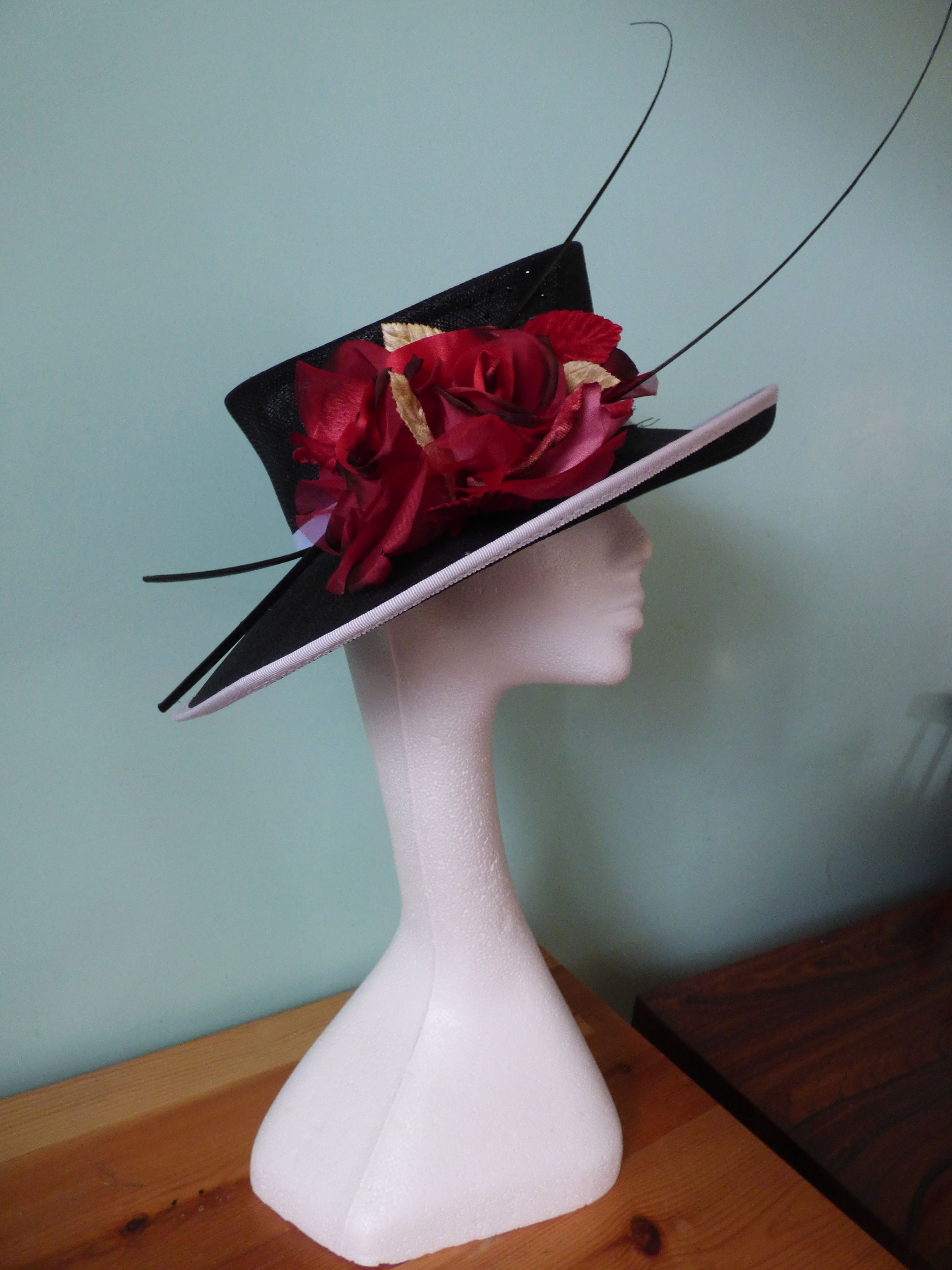 This Hat Is The Epotime Of Sophistication A Large Slanted Brim
