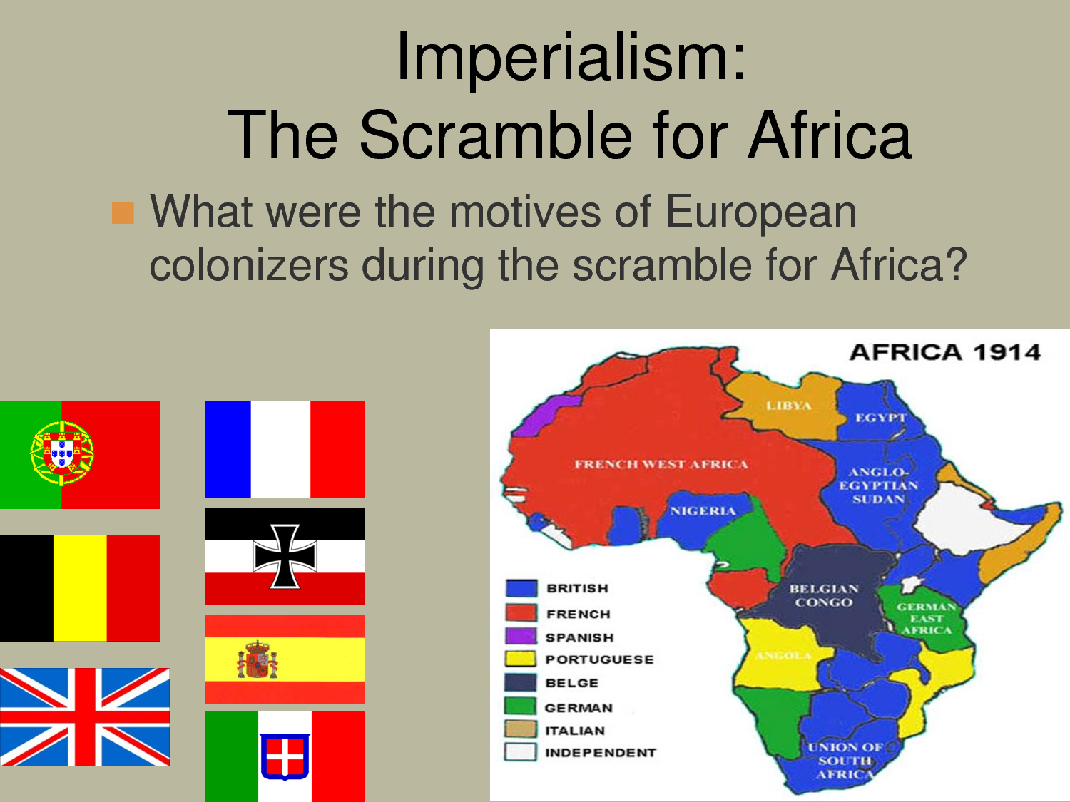 british imperialism in africa | Imperialism The Scramble for