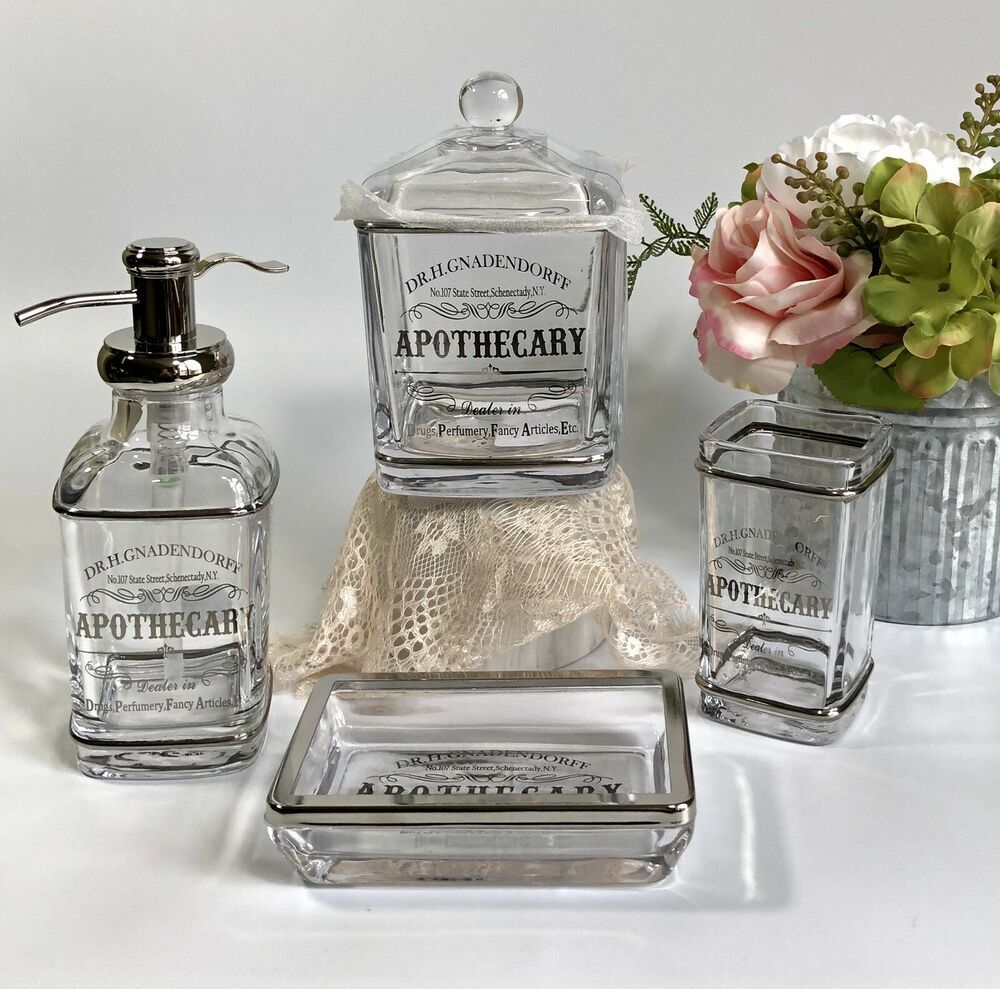 Apothecary Jar Soap Dispenser