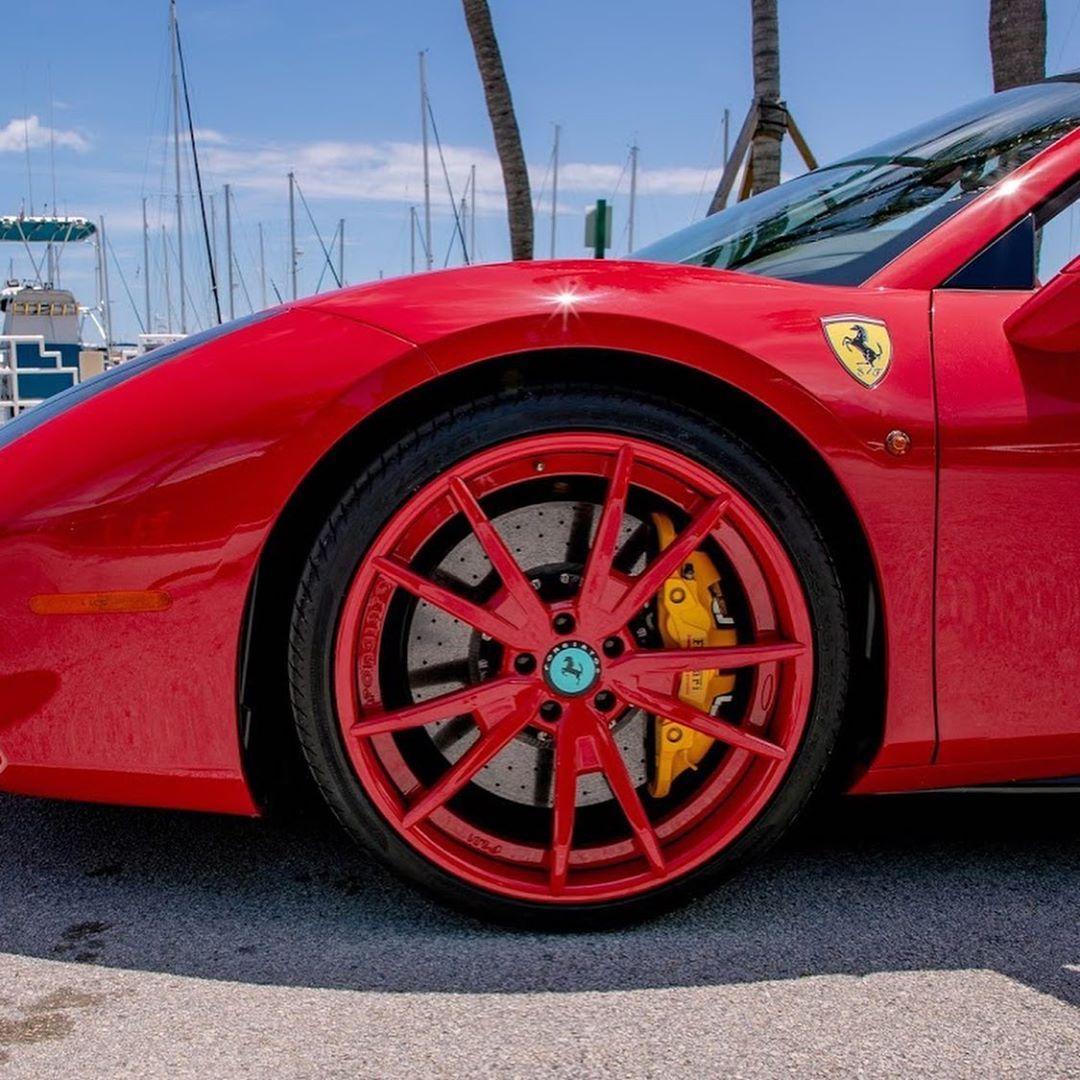 Richforever Instagram New One In The Stable Named Her Stallion Boss Ferrari Customized By Richbcaliente X Btscustoms Rick Ross Ross Rick
