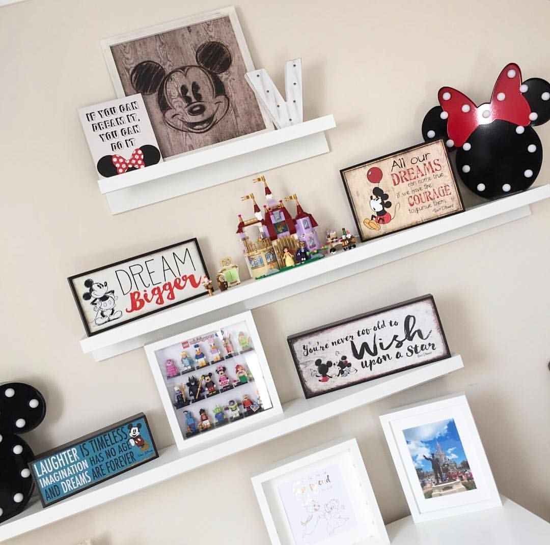 """Disney At Home on Instagram: """"How do we know that @vickiethomp5on is a Disney fan? Well, there are a few signs! We love your cute shelfie collection, some of our…"""""""