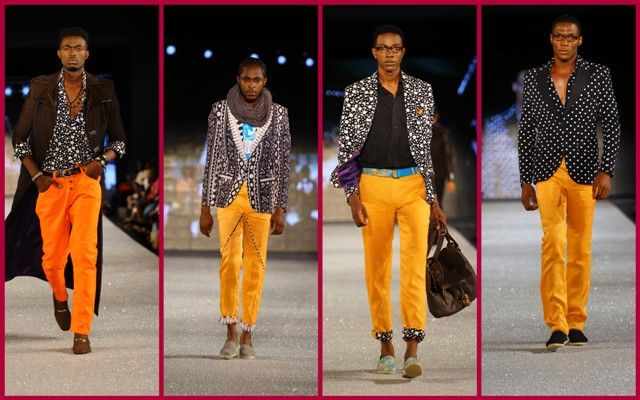 Kenyan designer John Kaveke
