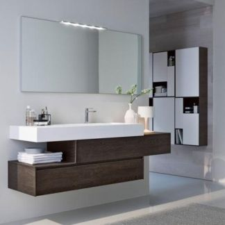 mobile bagno moderno | Via Sol. | Pinterest | Powder room, Bath and Room