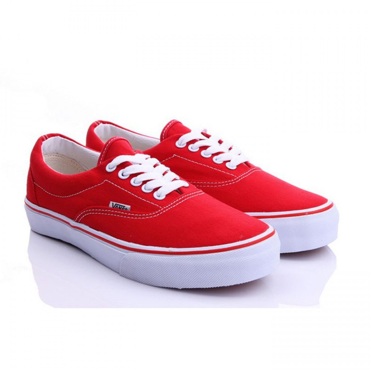 b3d5f9a793 Vans Shoes Red Classic Era Shoes Unisex Classic Canvas
