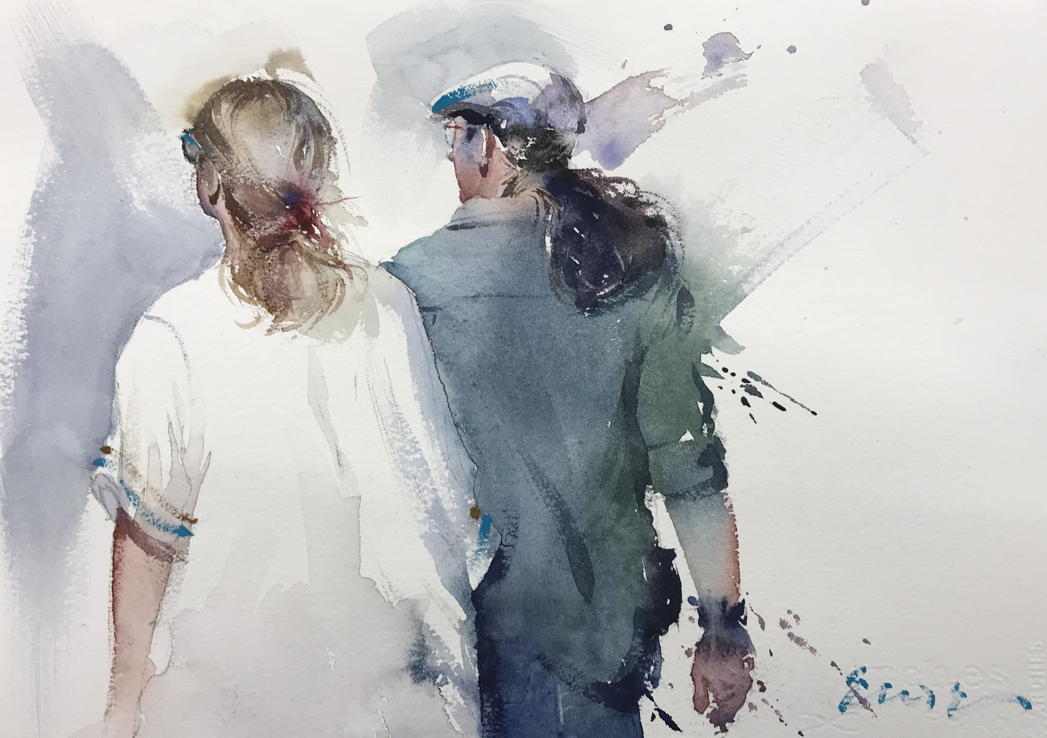 Online Course Of Watercolor Illustration Eudes Correia Onlajn Kurs