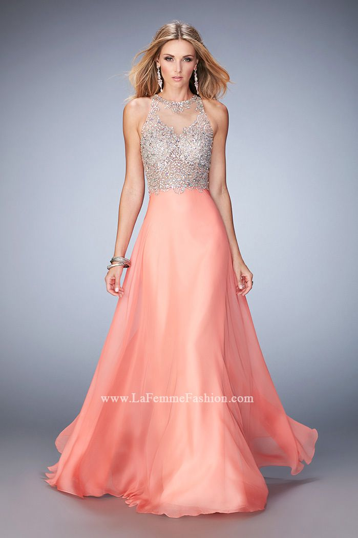 Look red-carpet-ready in Gigi Prom Style 22896 available at ...