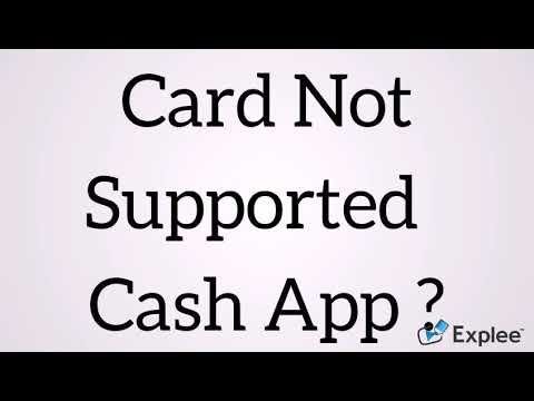 Card Not Supported Cash App? 18558596555 & Help Cash App