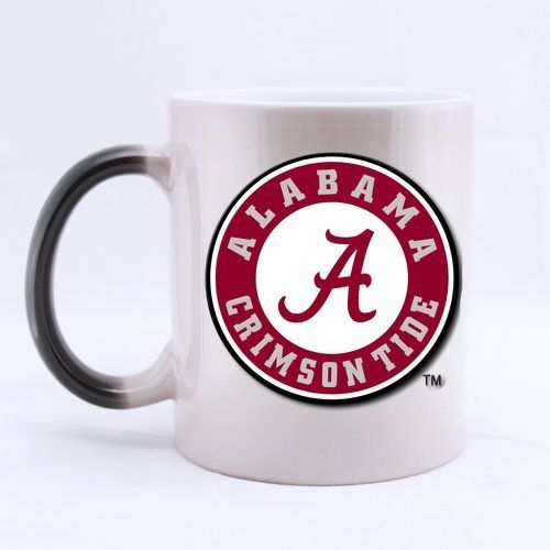 Custom NCAA Alabama Crimson Tide Changes with Heat Ceramic Magic