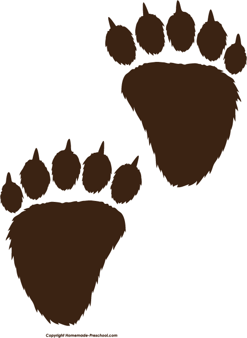 Bear Paw Prints Google Search Bear Paw Print Funny Baby Shower Games Modern Baby Shower Games