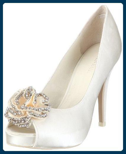heiße Produkte neue niedrigere Preise Veröffentlichungsdatum: Menbur Wedding Flor 04346, Damen Brautschuhe Pumps ...