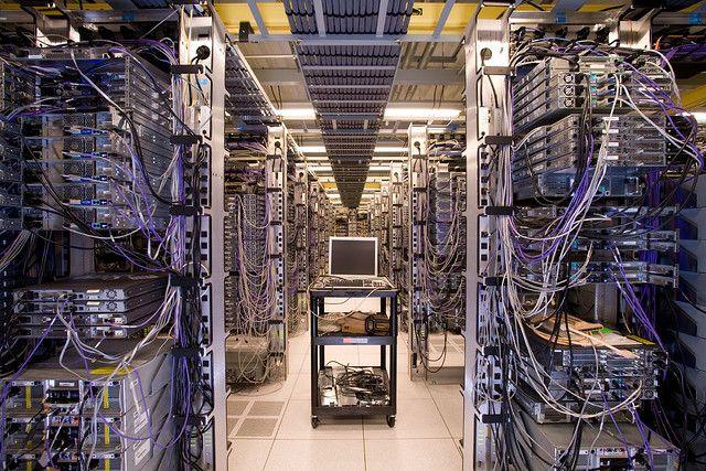 Corporate server room