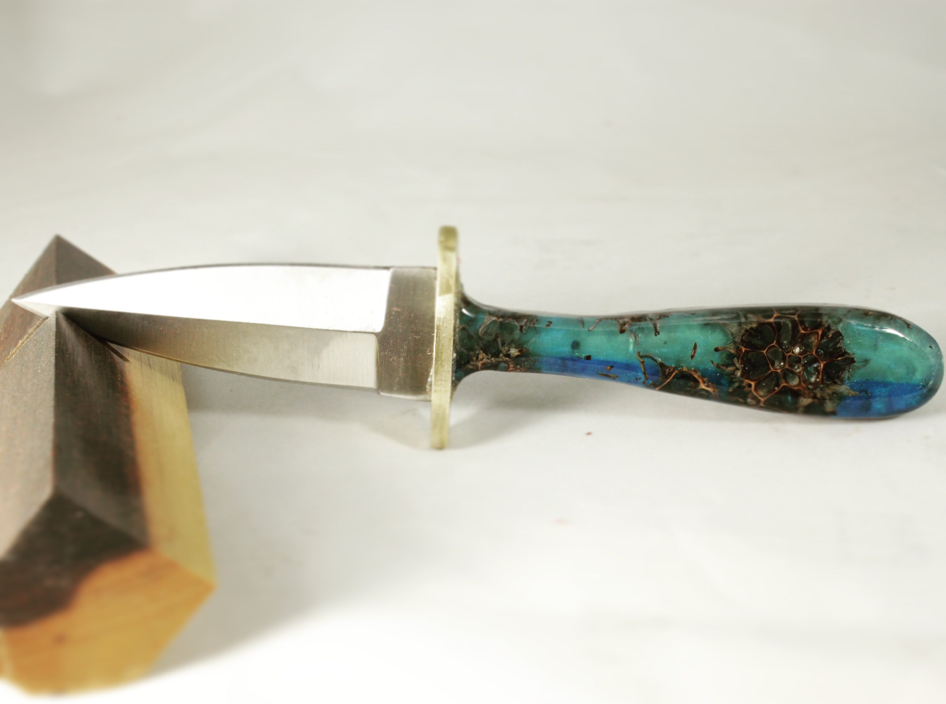 Boot knife with resin handle  #knife knives blades survival