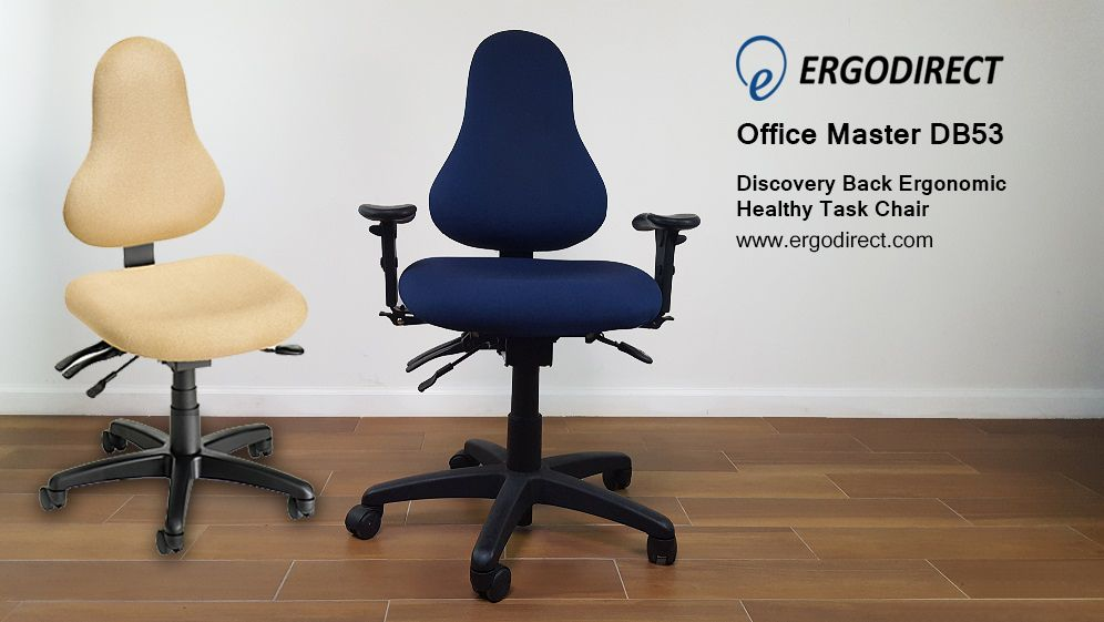 Consider The Db53 Task Chair Its Unique Pear Shaped Backrest