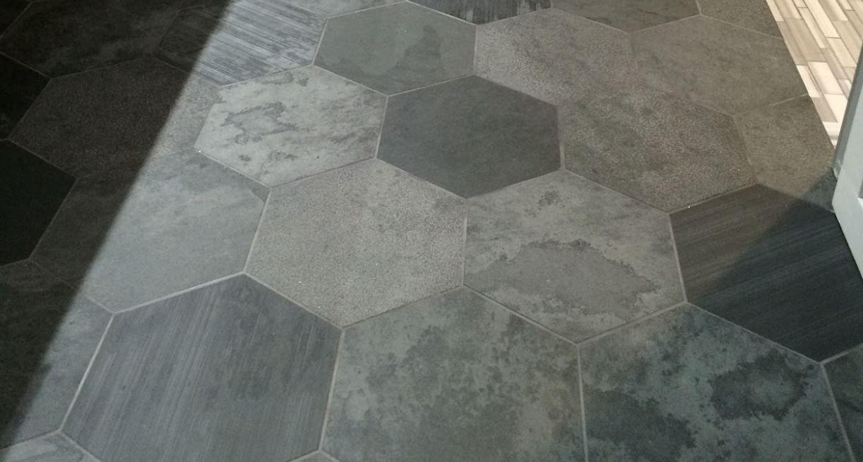 Peel And Stick Hexagon Floor Tiles Tile Floor Flooring Hexagon