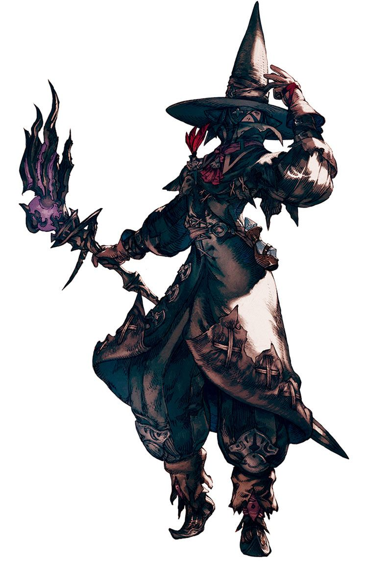 Final Fantasy Xiv A Realm Reborn Elezen Black Mage