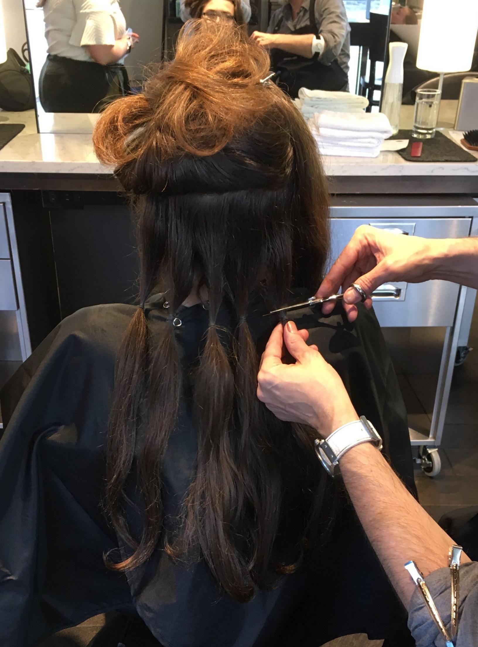 Just Donated Hair Beauty Skin Deals Me Fashion Love Cute Style Women Makeup Donating Hair Hair Health Hair