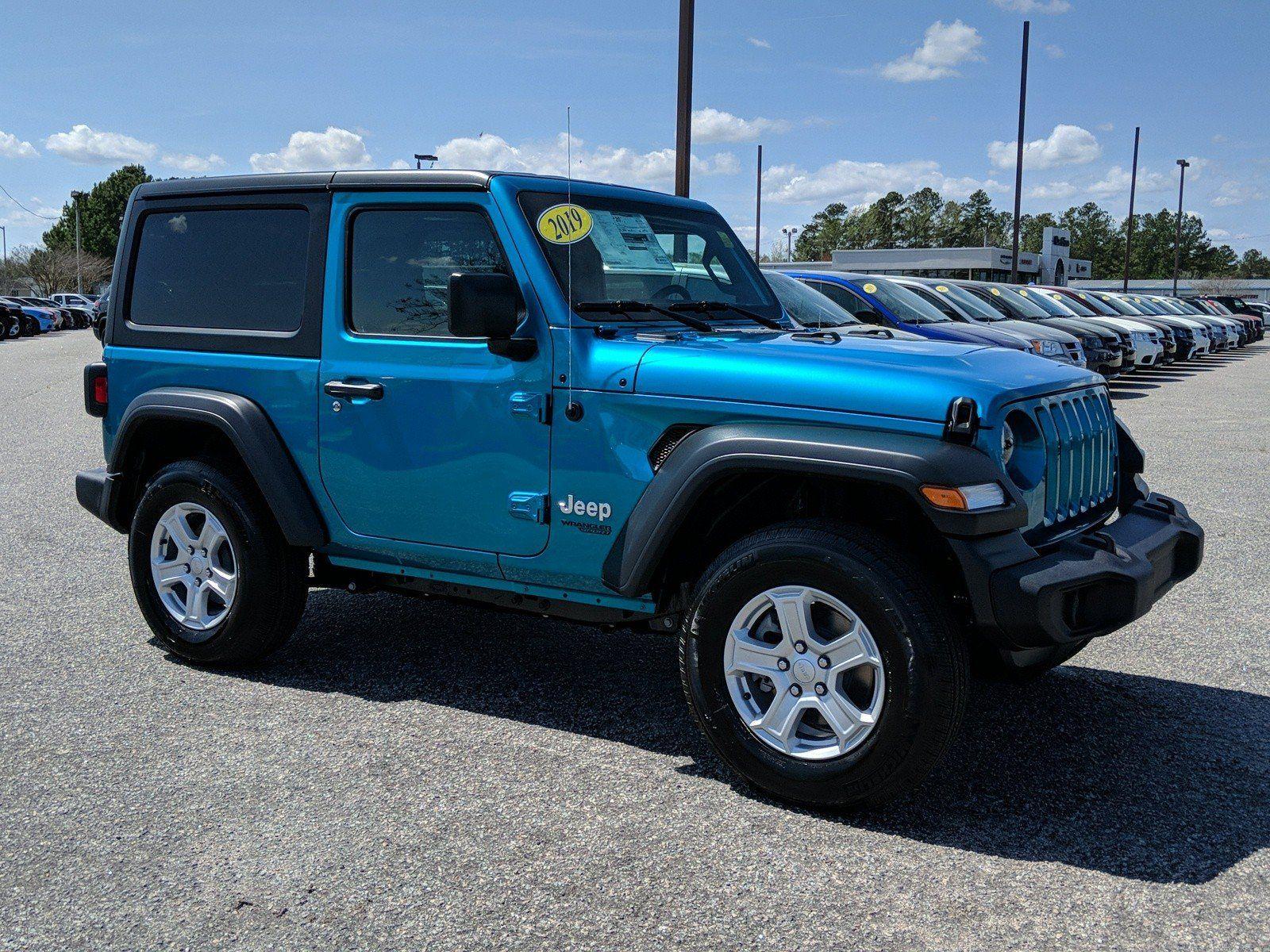 105 New Cdjr Vehicles In Stock Jeep Wrangler Sport Blue Jeep